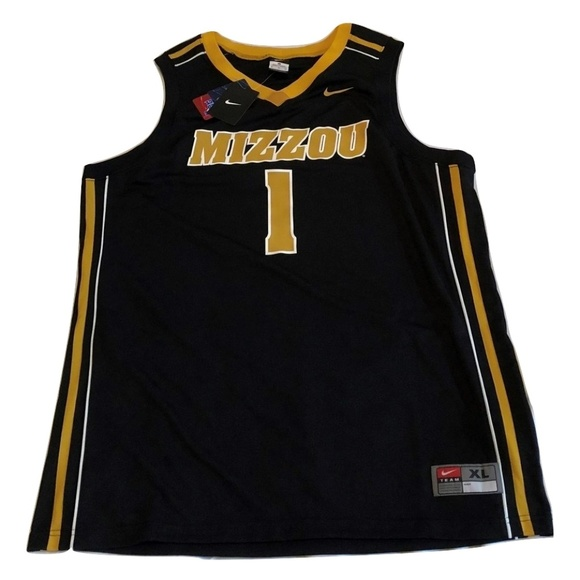 pretty nice 1bb60 3730f #1 Missouri Tigers Nike Basketball Jersey NWT